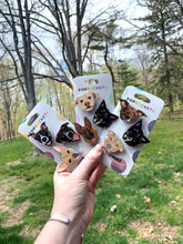 "Load image into Gallery viewer, Custom Dog Inspired ""Pops"" Cell Phone Grips/ Stands - 3 Pack"