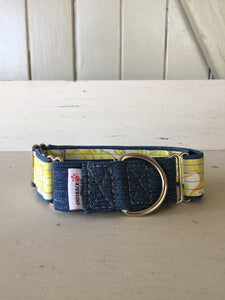 Rescued collar - Denim Yellow (Medium)