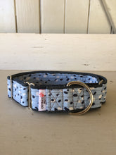 Load image into Gallery viewer, Rescued collar - Blue dot (Large)