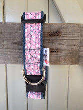 Load image into Gallery viewer, Rescued collar -  Pink floral (Small)