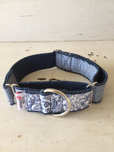 Rescued collar - Paisley diamond