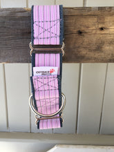 Load image into Gallery viewer, Rescued collar - Pink Stripe