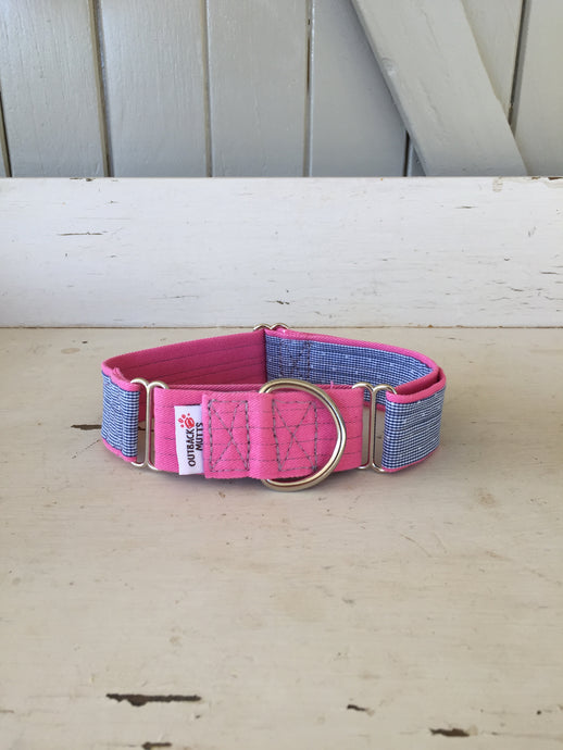 Rescued collar - Pink Star