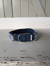 Load image into Gallery viewer, Rescued collar - Denim diamond