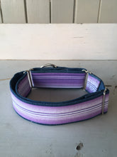 Load image into Gallery viewer, Rescued collar - Purple stripe