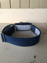Load image into Gallery viewer, Rescued collar - Paisley denim