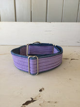 Load image into Gallery viewer, Rescued collar - Purple stripe II