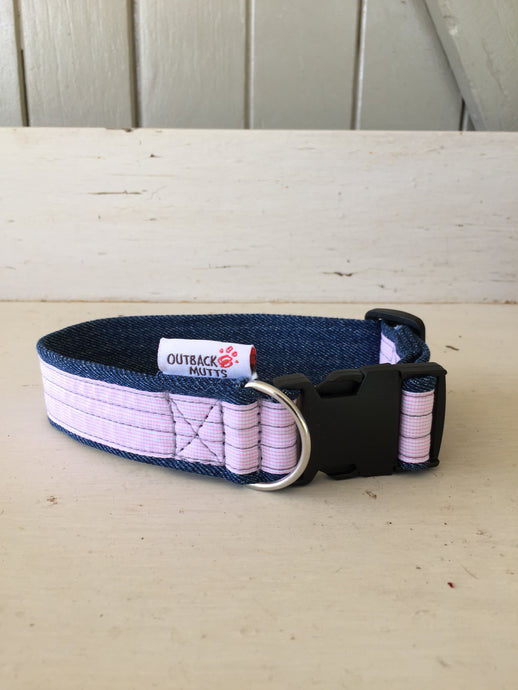 Rescued collar - Pink (small)