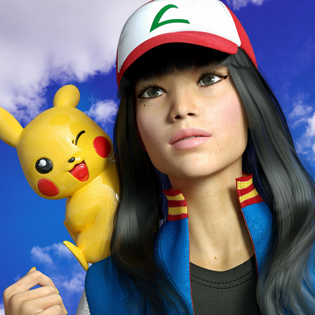 Female Ash Ketchum