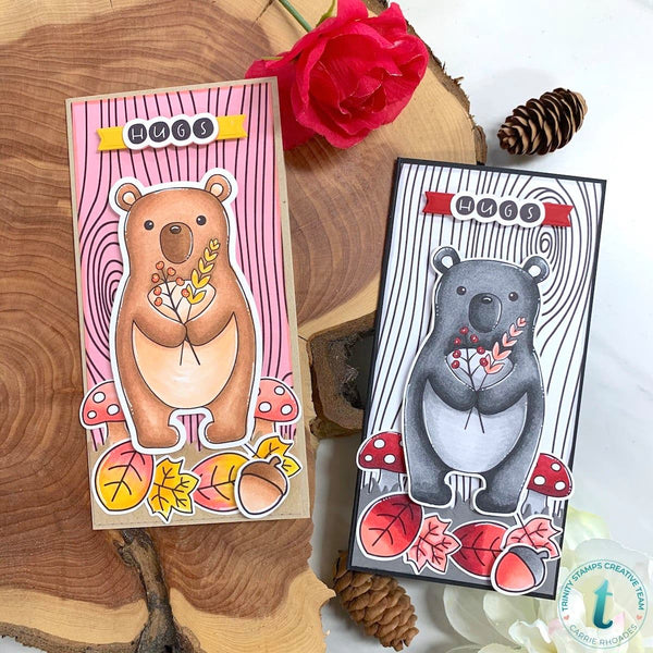 Blessing Bear Coordinating Die Set
