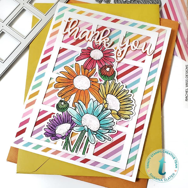 With Sympathy 4x6 Stamp Set