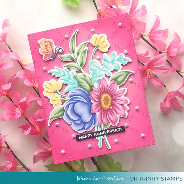 Blooming Bunch 4x6 Stamp Set
