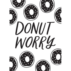 Donut Worry- Background Embossing Folder