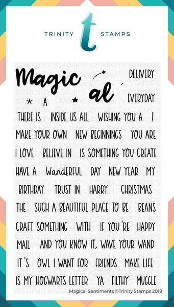 Magical Sentiments 4x6 Stamp Set