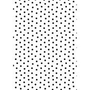 5x7 Polka Dot Background Embossing Folder