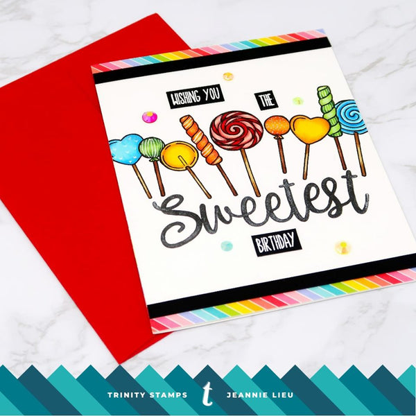 3x4 Sweeter Than Stamp Set