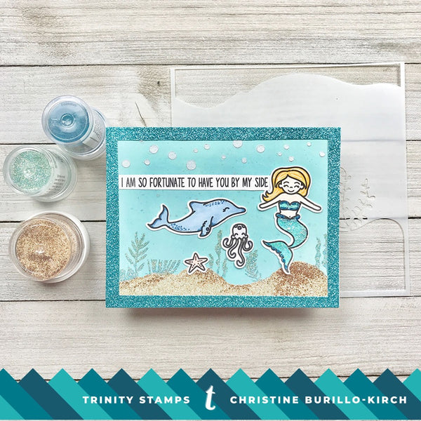 Ocean Reef Builder 4x8 Stamp Set