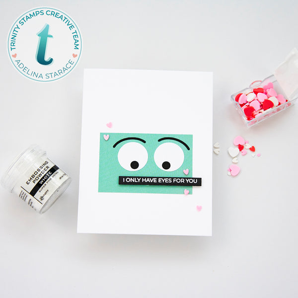 Love and Stuff Sentiments 3x4 Stamp Set