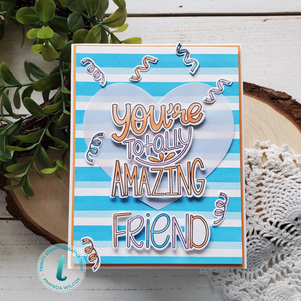 4x6 Totally Amazing Stamp Set