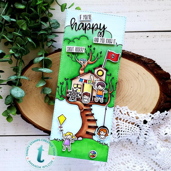 Treetop Adventure Coordinating Die Set
