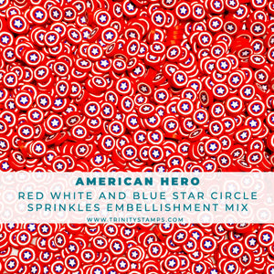 American Hero - Clay Sprinkles Embellishment Mix