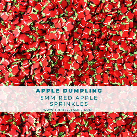 Apple Dumpling - Apple Shaped Sprinkles