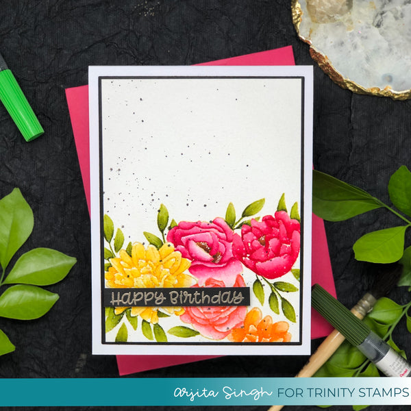 Wallflower 4x6 Stamp Set