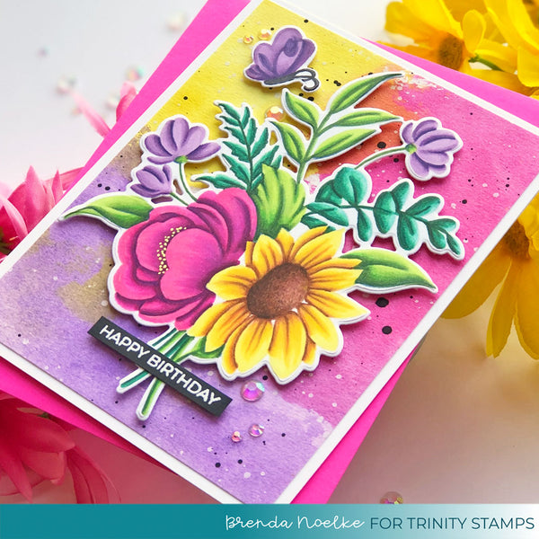 Blooming Bunch Coordinating Die set