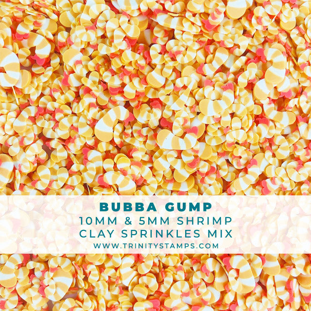 Bubba Gump- 5mm & 10MM Shrimp Clay Sprinkles Mix