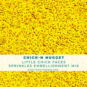 Chick-n Nugget- Animal Sprinkles Embellishment Mix