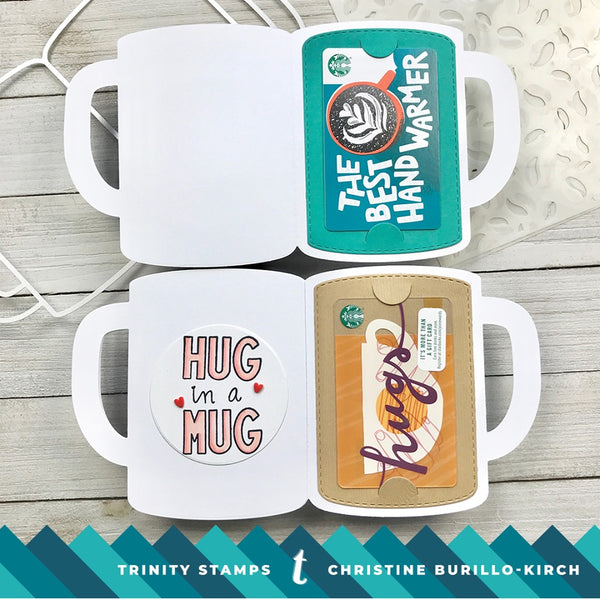 4x6 A Latte Love Clear Photopolymer Stamp Set