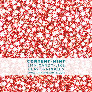 Content-MINTs - 5mm Candy-like Clay Sprinkles Mix