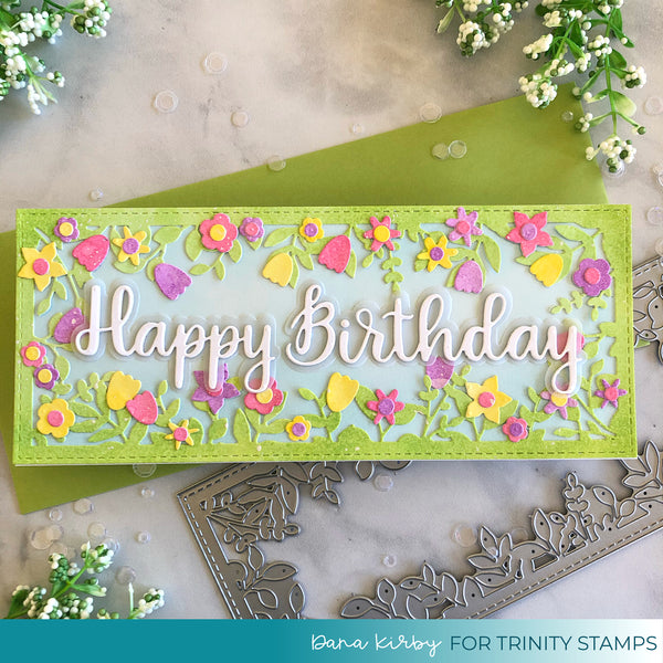 Scripty Birthday Stand-Alone Die Set