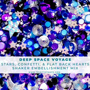 Deep Space Voyage- Confetti Embellishment Mix