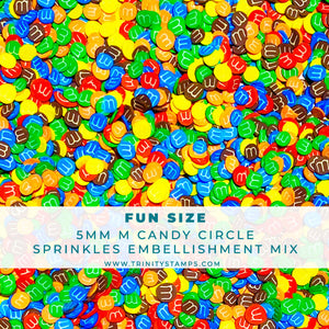 Fun Size- Clay Sprinkles Embellishment Mix