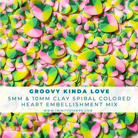 Groovy Kind Of Love - Heart Embellishment Mix