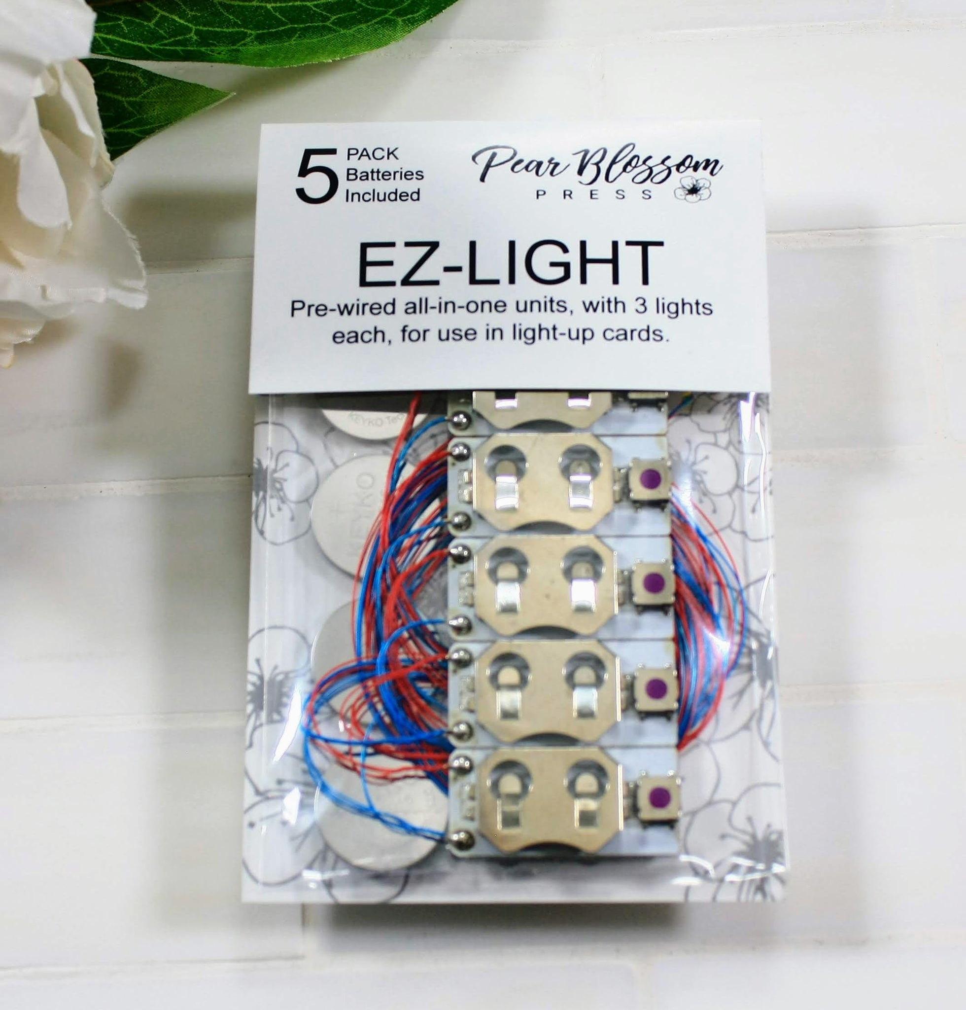 Pearblossom Press EZ-LIGHT (5) PACK