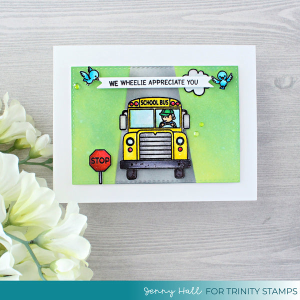4x6 Let's Ride Together Stamp Set
