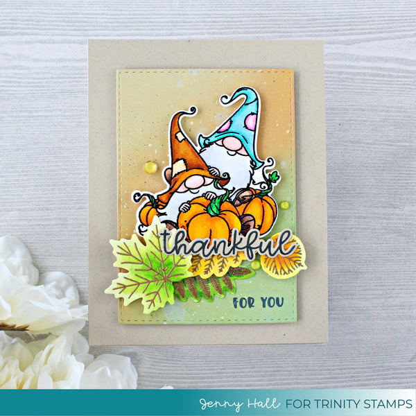 Thankful For You 3x4 Stamp Set