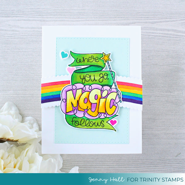 You're Magic 3x4 Stamp Set