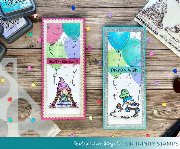 3x4 Make A Wish Stamp Set