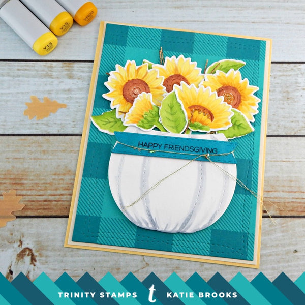 Harvest Candy & Flower Bucket Die Set