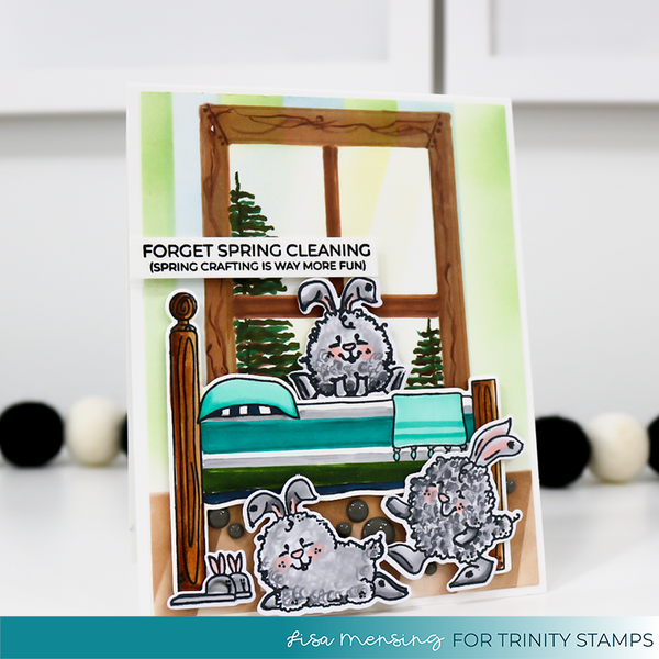 3x4 Springtime Sentiments Stamp Set