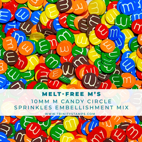 Melt-Free M's - Clay Sprinkles Embellishment Mix