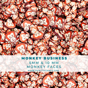 Monkey Business - Clay sprinkles mix