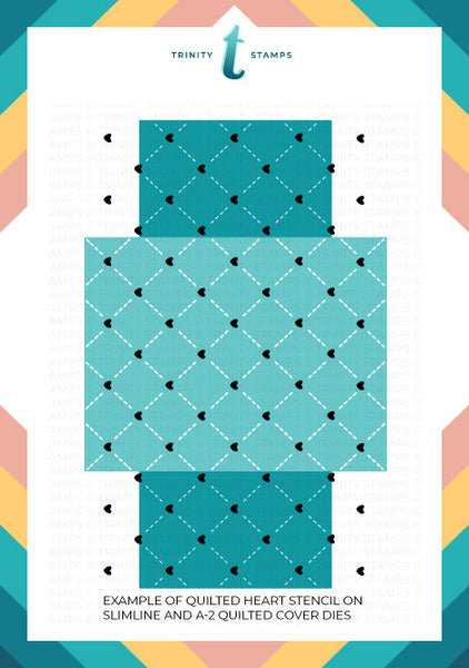 "6x9"" Quilted Pattern Trio Stencil Set"