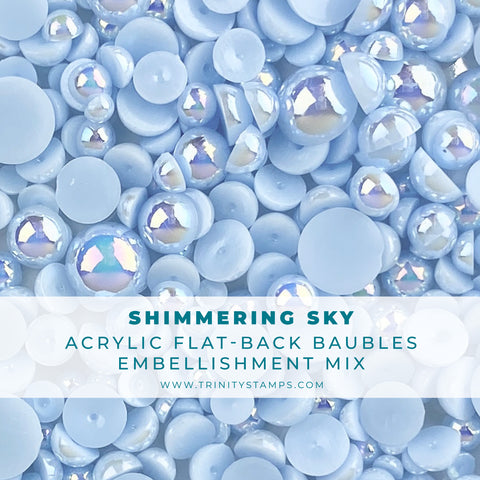 Shimmering Sky Baubles Embellishment Mix