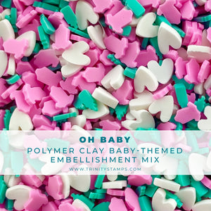 Oh Baby! Clay Embellishment Mix