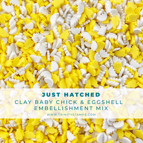Just Hatched Clay Embellishment Mix