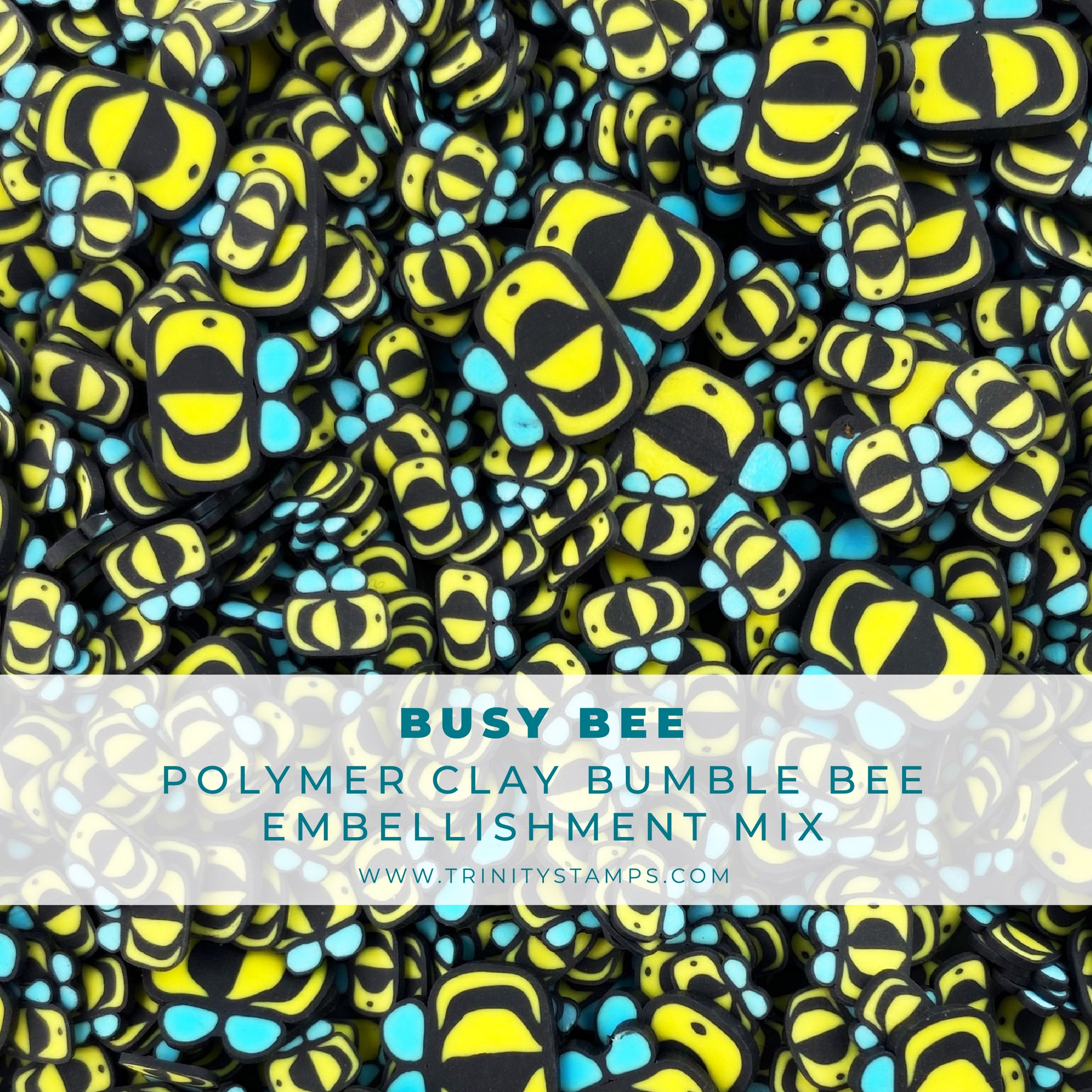 Busy Bee Clay Embellishment Mix